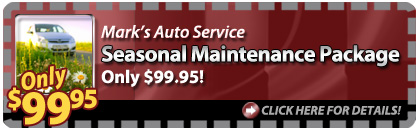 Coupon Offer: Seasonal Maintenance Package