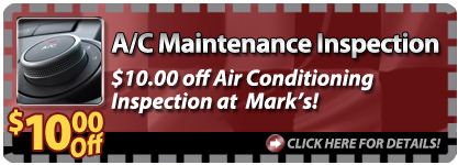 $10 Off A/C Maintenance Inspection!